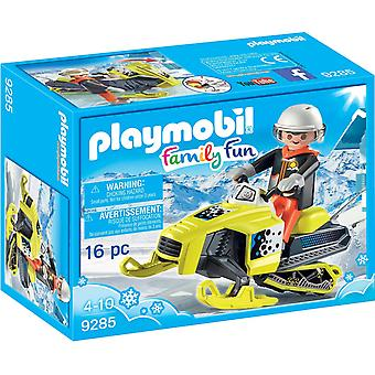 Playmobil 9285 Snowmobile Action Figure,