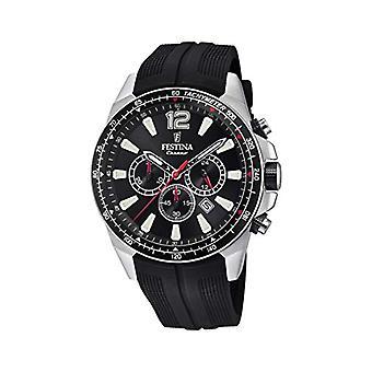 Festina watch Chronograph quartz men with strap in PU F20376/3