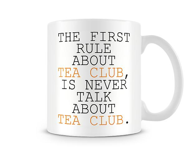 Rule About Tea Club Mug