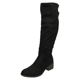 Ladies flekk på Over kneet støvler