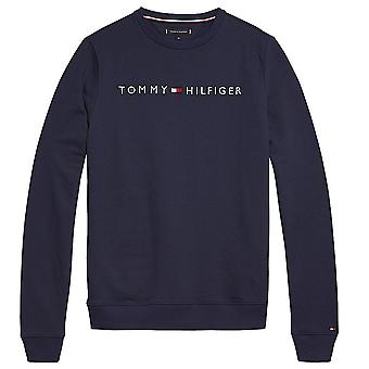 Tommy Hilfiger Long Sleeve HWK Track Top, Navy, Small