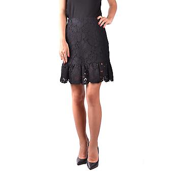 Filosofi av Lorenzo Serafini svart bomull kjol