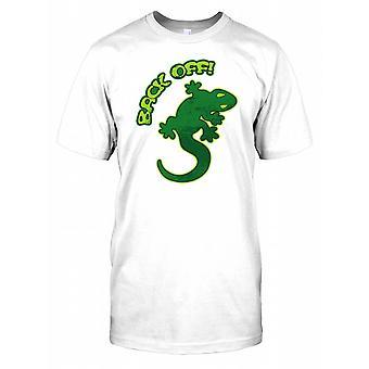 Back Off - Gecko Mens T Shirt