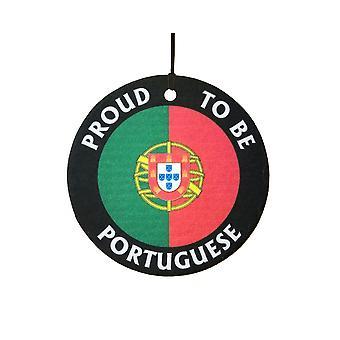 ポルトガルの車用芳香剤のことを誇りに