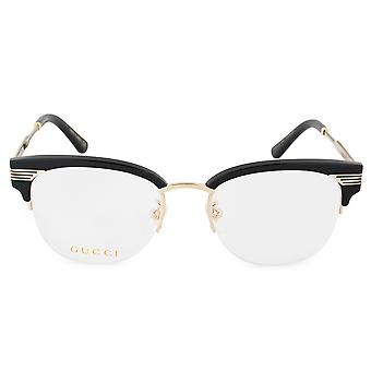Gucci GG0201O 001 50 kvadratmeter briller rammer