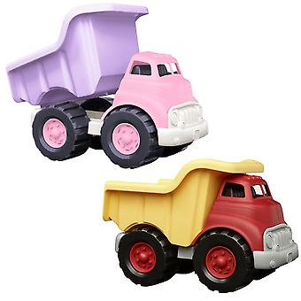 Green Toys Dump Truck with No Metal Axles Construction Vehicle BPA Free