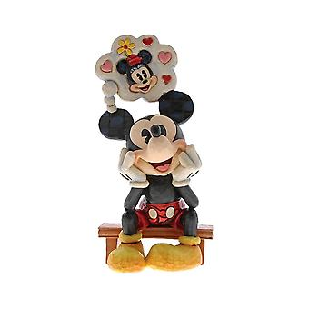 Disney Traditions Mickey Mouse ' Thinking of You ' Figurine