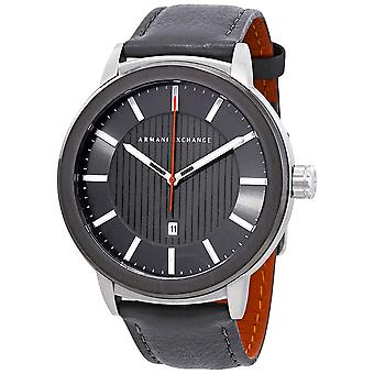Armani Exchange Leather Mens Watch AX1462