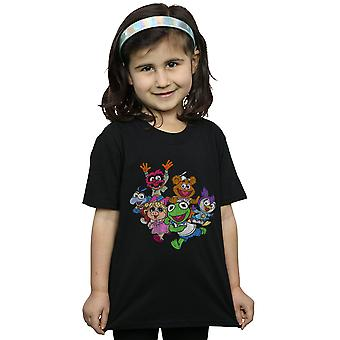 Disney Girls The Muppets Muppet Babies Colour Group T-Shirt