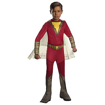 Shazam Classic Captain Marvel DC Comics Wizard Superhero Licensed Boys Costume