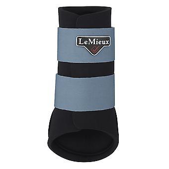 LeMieux Lemieux Grafter Poney/cheval Brosse-Bottes - Bleu Glace