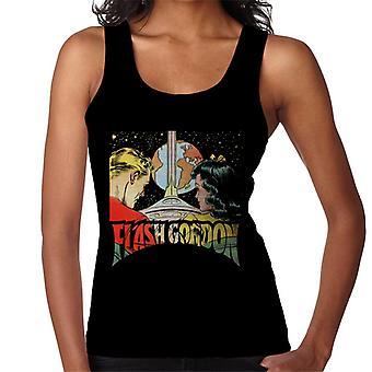Flash Gordon With Dale Space Flight Women's Vest