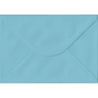 Pastel Blue Gummed C5/A5 Coloured Blue Envelopes. 100gsm FSC Sustainable Paper. 162mm x 229mm. Banker Style Envelope.