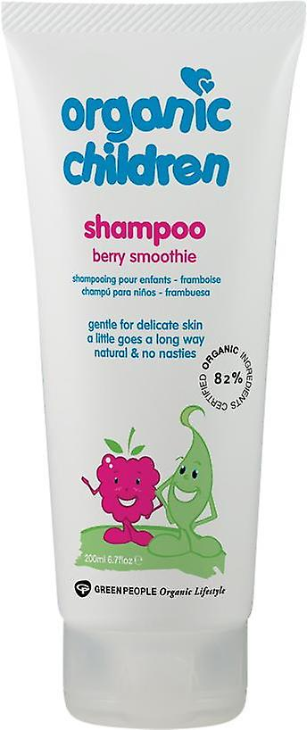 Green People Organic Children Shampoo Berry Smoothie