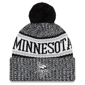 New era NFL sideline 2018 Bobble hat of Minnesota Vikings