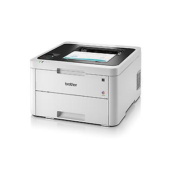 BROTHER HL-3230CDW WIFI 256 MB witte LED printer