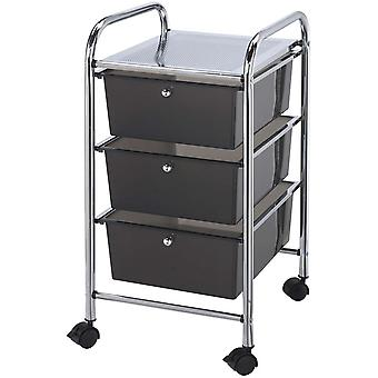 Storage Cart with 3 Drawers 13