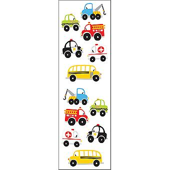 Mrs. Grossman's Stickers Chubby Work Vehicles Mg199 07293