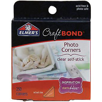 Photo de Craftbond adhésif Elmers coins 250 Pkg Clear E4024