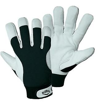 Griffy 1707 Winter mounting gloves Inner hand: Nappa-leather  Back of the hand: Spandex Size 7