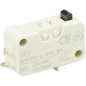 Microswitch 250 Vac 16 A 1 x On/(On) Cherry Switches D453-B8AA momentary 1 pc(s)
