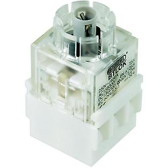 Contact + bulb holder 2 breakers momentary 250 V Schlegel BTLO5K 1 pc(s)