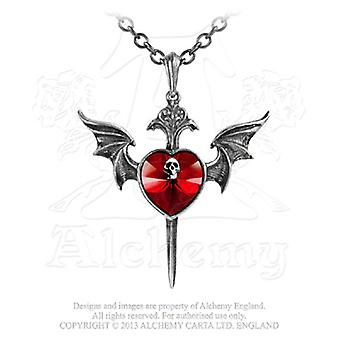 Alchemy Gothic Death Of A Vampire Pendant