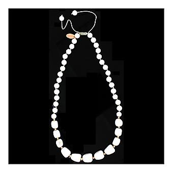 Lola Rose Ellarie Necklace White Sea Shell Marble
