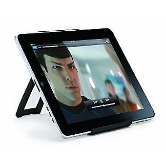 Ozaki iCarry books stand of portable tablet Galaxy tab iPad stand black