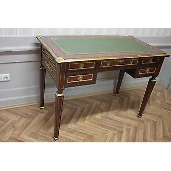 baroque desk antique style bureau plat  MoSr0315
