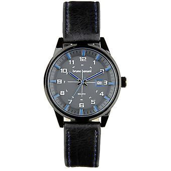 Bruno Banani watch wristwatch ob leather analog BR30008