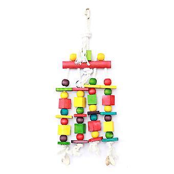 Papegøje legetøj blokerer N perler