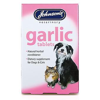 Jvp Dog & Cat Garlic 40 Tablets