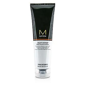 Paul Mitchell Mitch Heavy Hitter Shampoo detergente profondo - 250ml / 8.5 oz
