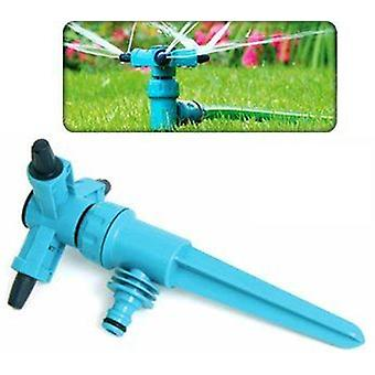 Adjustable Speed Rotating 3 Arm Sprinkler Garden/lawn 360 Degree