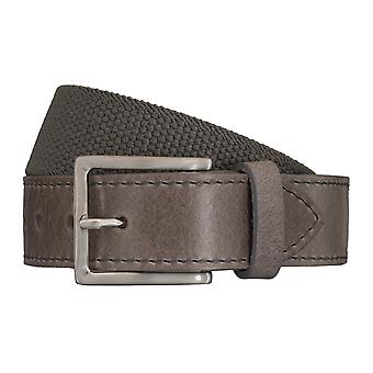 SAKLANI & FRIESE belts men's belts woven belt grey 5431