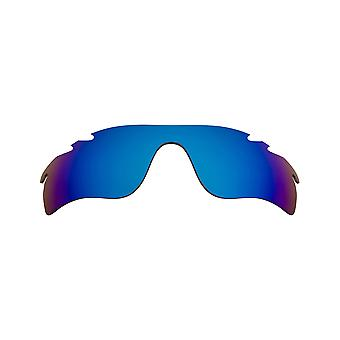 New SEEK Polarized Replacement Lenses Oakley VENTED RADARLOCK PATH Blue Mirror