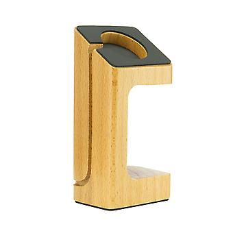 Plastic stand for Apple iWatch - Light wood effect