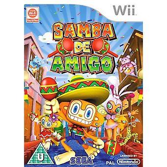 Samba De Amigo Nintendo Wii Game