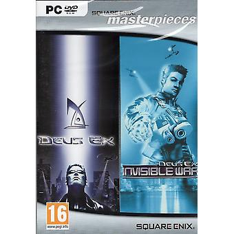 Deus Ex and Deus Ex Invisible War - Square Enix Masterpieces PC