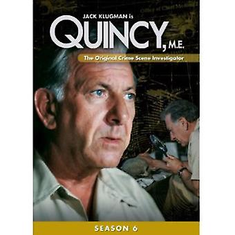Quincy mnie: sezon 6 import USA [DVD]