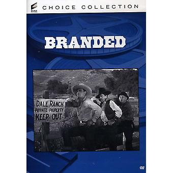 Branded (1931) [DVD] USA import