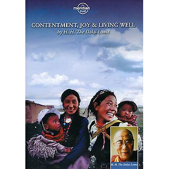 The Dalai Lama: Contentment, Joy and Living Well [DVD] USA import