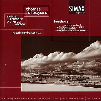 Larsen Beethoven - Beethoven: Komplette Orkesterværker Vol. 8 [CD] USA import