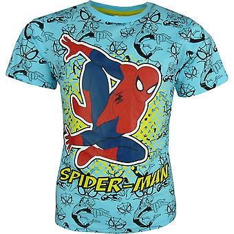 Manches courtes T-shirt de Marvel Spiderman garçons