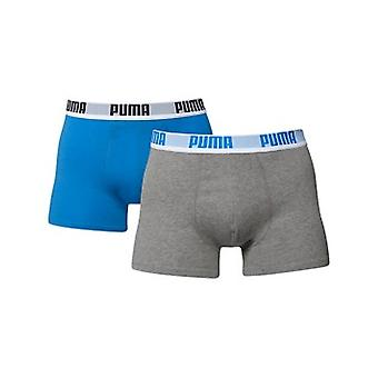 PUMA boxer shorts 2 pack [blue/gey]