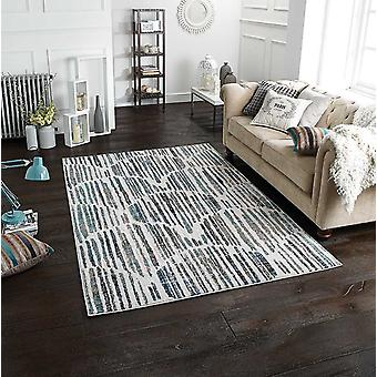 Chloe 702 X Blue Grey  Rectangle Rugs Modern Rugs
