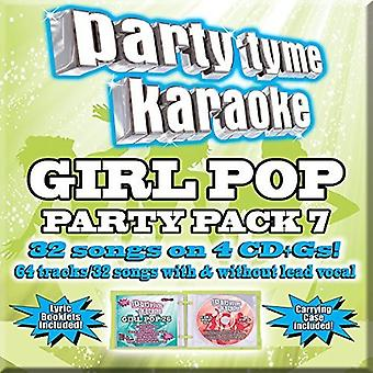 Part Tyme Karaoke - pige Pop Party Pack [CD] USA import