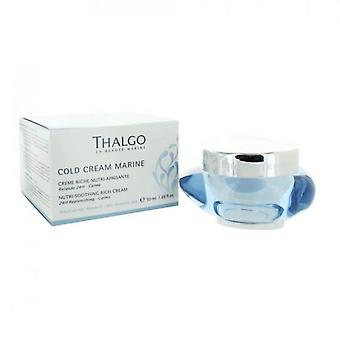 Thalgo Cold Cream Nutri Marine Rich Soothing Cream 50 Ml