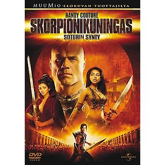The birth of a warrior in the Scorpion King-(DVD)